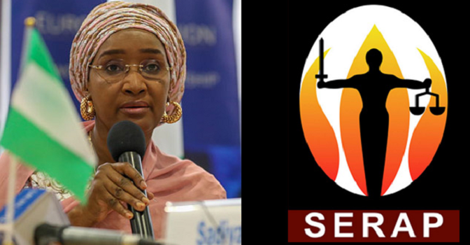 Accountability: SERAP urges government to provide details of N729bn payments to 24.3m Nigerians