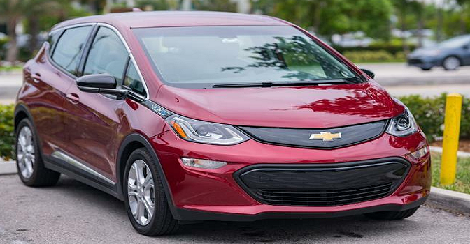 GM again, recalls nearly 69,000 Chevy Bolt vehicles over risk of fires